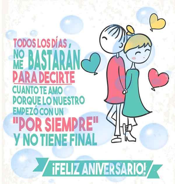 Imágenes De Aniversario Tarjetas Postales Y Frases Bonitas