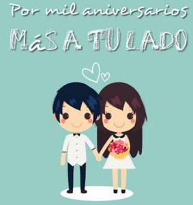 postales de aniversario de amor