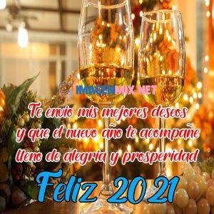 saludos de feliz año nuevo 2021